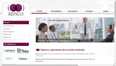 Site internet de European Pharmaceutical Promotion Epp