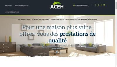 Site internet de Agence Centrale de l'Environnement et de l'Habitat