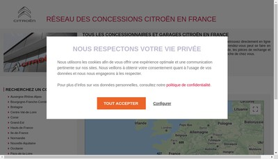 Site internet de Avicars