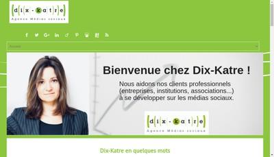 Site internet de Dix-Katre