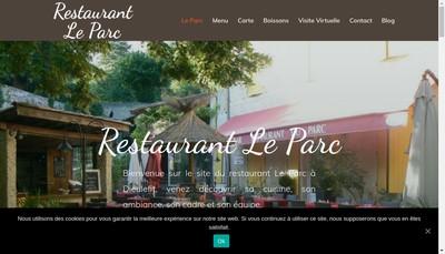 Site internet de Restaurant le Parc
