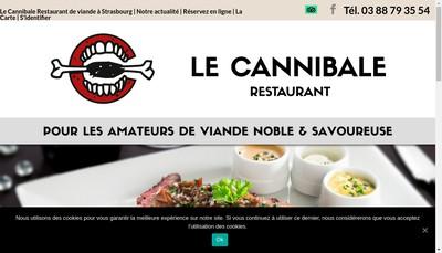 Site internet de Le Cannibale