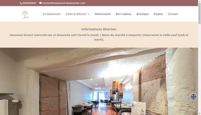 Site internet de Le Saisonnier
