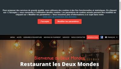 Site internet de Les Deux Mondes