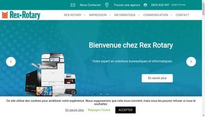 Site internet de Rex Rotary