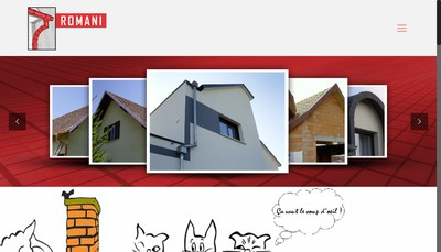 Site internet de Etablissements Romani & Fils SAS