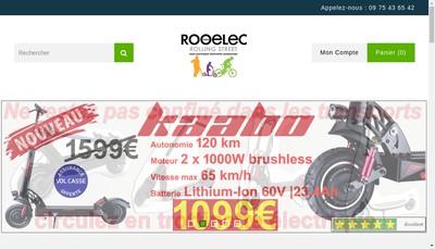 Site internet de Roo-Elec