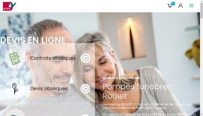 Site internet de Roulet et Fils