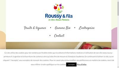 Site internet de Etablissements Roussy & Fils