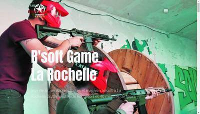 Site internet de R'Soft Game