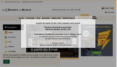 Site internet de Naturelia Apiculture - Apiculture Normandie Maine