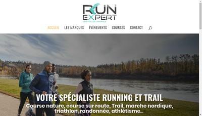 Site internet de Run-Expert