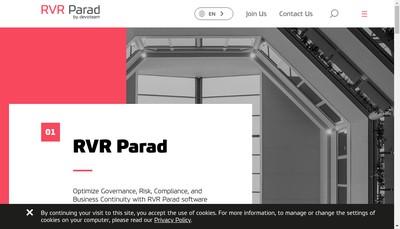 Site internet de Rvr Parad