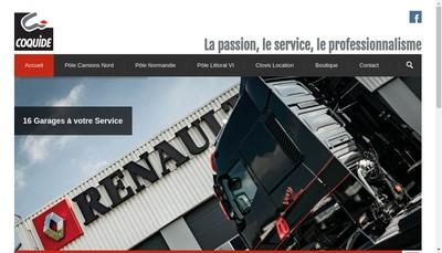 Site internet de Etablissements Coquide et Compagnie