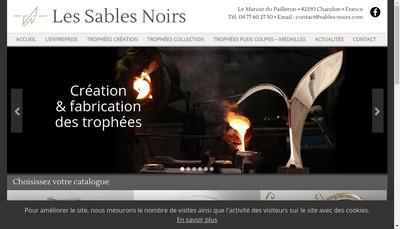 Site internet de Les Sables Noirs