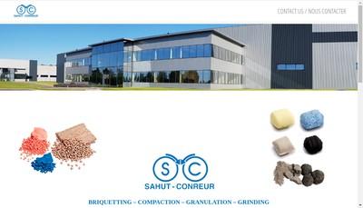 Site internet de Sahut Conreur SA