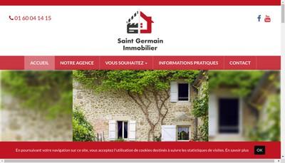 Site internet de Saint Germain Immobilier