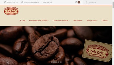Site internet de Saldac
