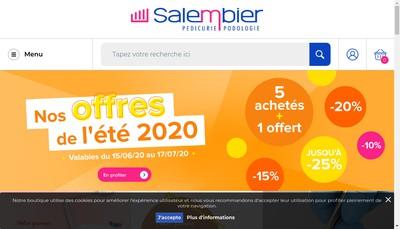 Site internet de SA Salembier Freres
