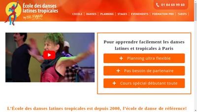 Site internet de Salsa Danse-Ecole des Danses-Latines