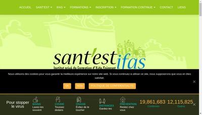 Site internet de Sant'Est Ifas