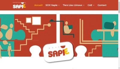 Site internet de Sapie