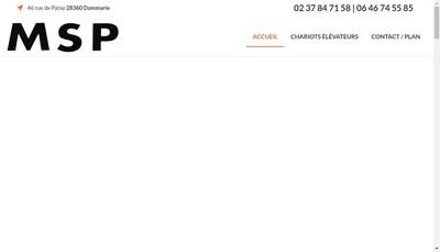 Site internet de Msp