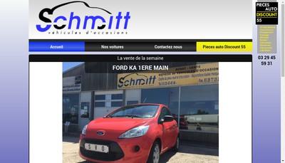 Site internet de Pieces Auto Discount 55