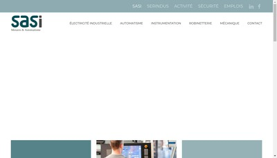 Site internet de Societe Automatisme Services Instrumentation