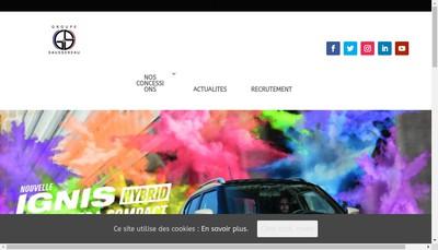 Site internet de Forza Chartres