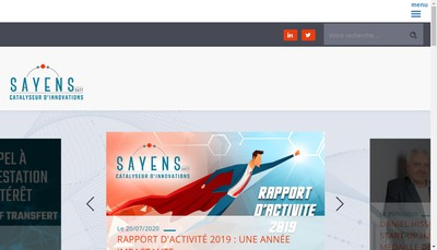Site internet de Satt Sayens