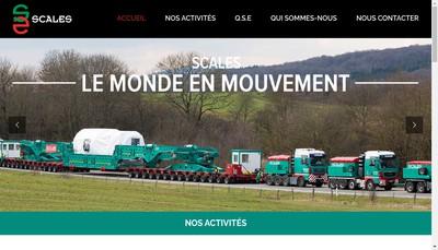 Site internet de Scales