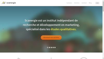 Site internet de Scanergie