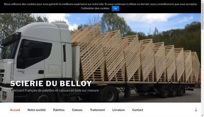 Site internet de SARL Scierie du Belloy