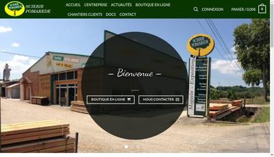 Site internet de Scierie Pomarede