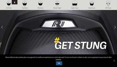 Site internet de Scorpion Sports
