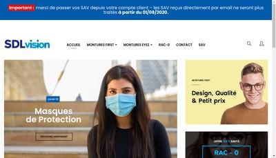 Site internet de Sdl Group