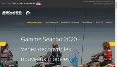Site internet de Sea Doo