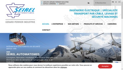 Site internet de Seirel