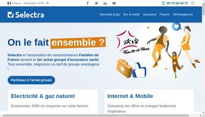 Site internet de Selectra Info