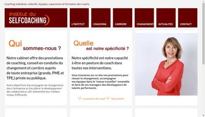 Site internet de Institut du Selfcoaching