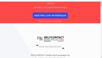Site internet de Selfcontact
