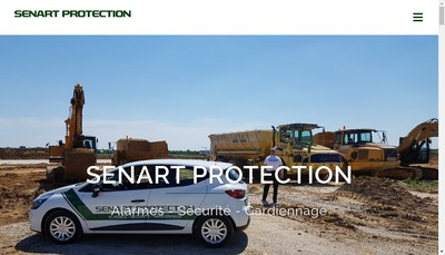 Site internet de Senart Protection