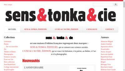 Site internet de L'une&l'Autre Editions - les Editions du Mont-Boron - la Chouette