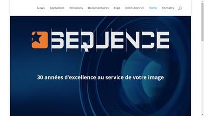 Site internet de Sequence SDP