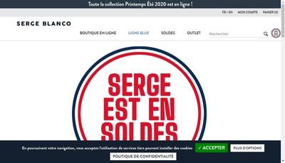 Site internet de Serge Blanco