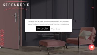 Site internet de Serrurerie du Pont de Bry