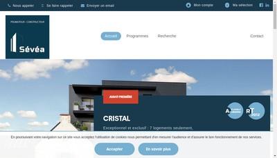 Site internet de Sevea