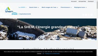 Site internet de SHEM