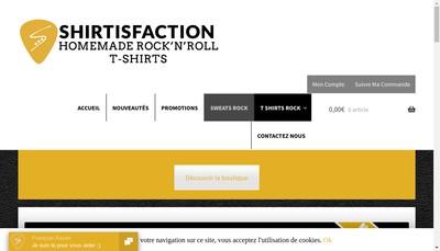 Site internet de Shirtisfaction